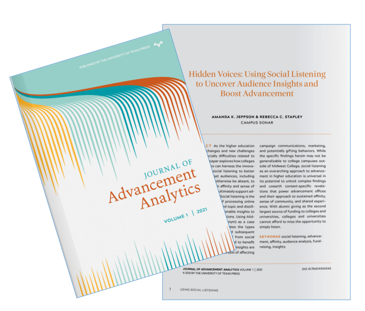 Journal of Advancement Analytics